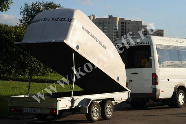 Прицеп к микроавтобусам Мерседес Спринтер до 20 посадочных мест