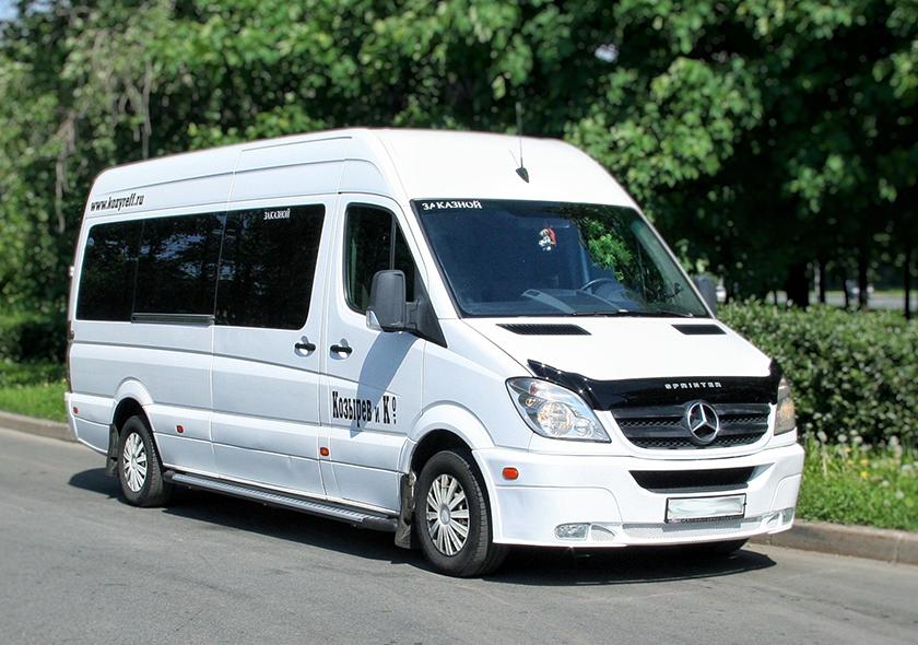 Заказ микроавтобусов MERCEDES SPRINTER 315
