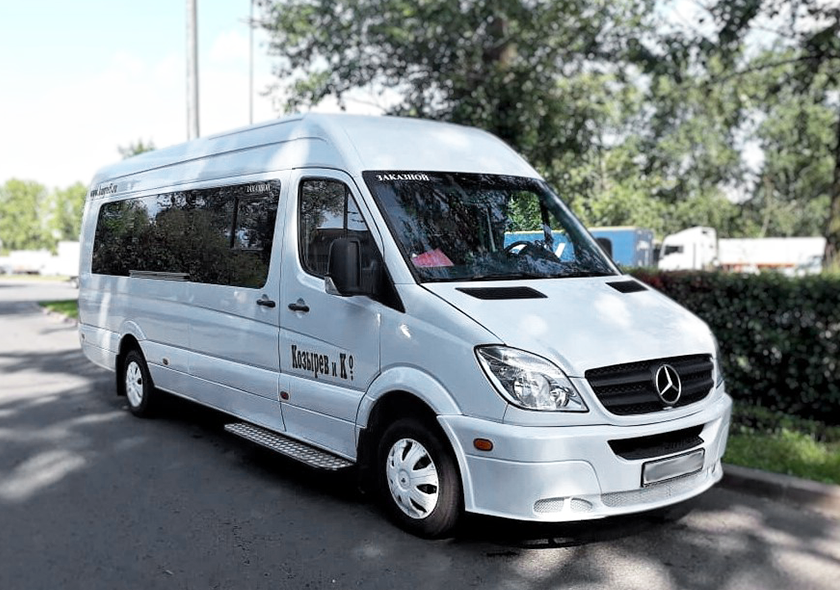 Заказ микроавтобусов Мерседес Спринтер 515