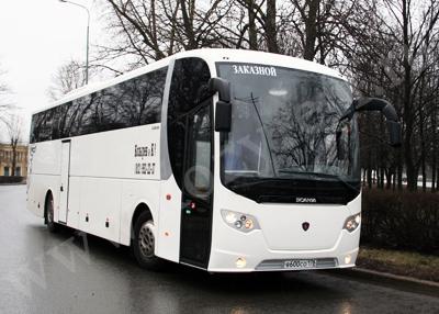 Заказ Lux автобусов Скания