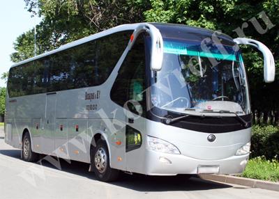 Заказ автобусов Ютонг на 45 мест