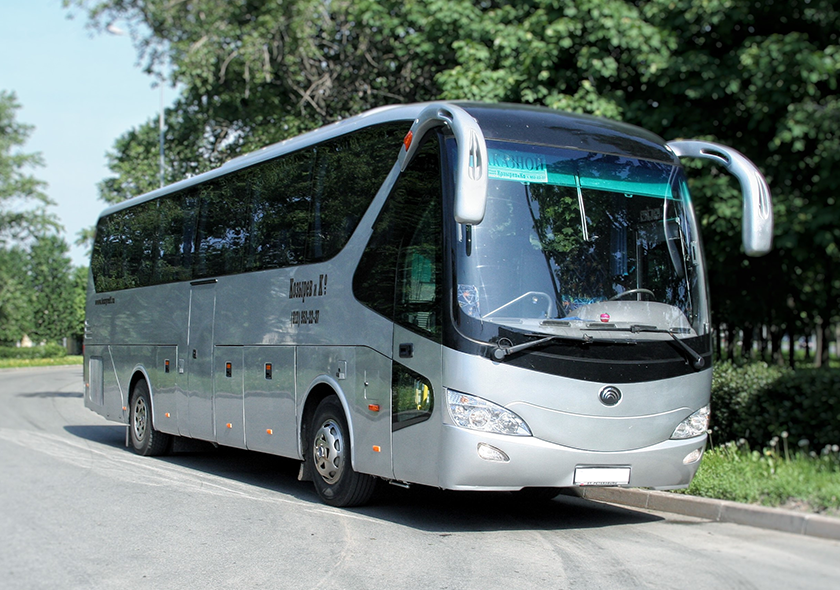 Заказ автобусов YUTONG (Ютонг) на 45 мест