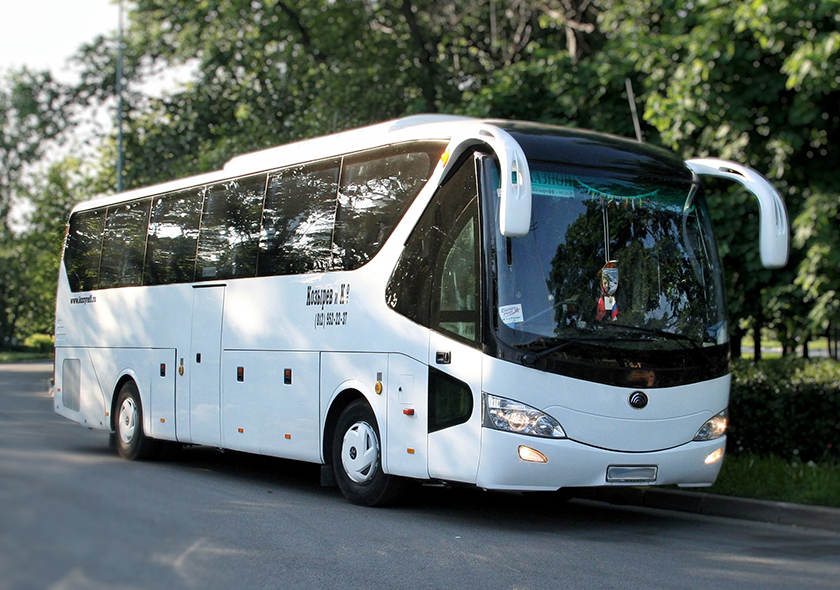 Аренда автобусов YUTONG (Ютонг) на 49 мест