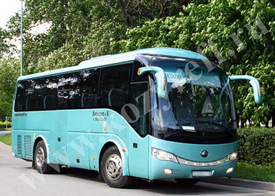 Аренда автобусов Ютонг на 35 мест