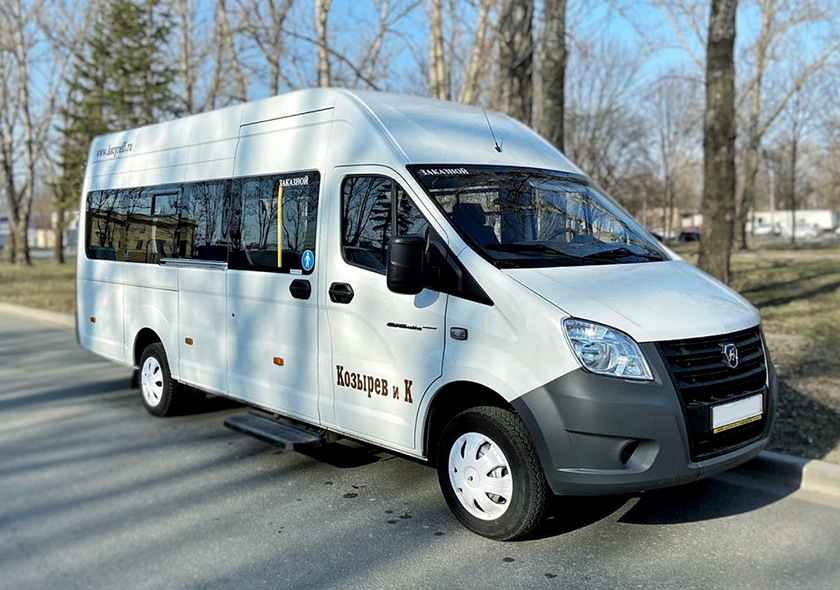 Заказ микроавтобусов ГАЗ