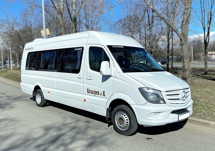 Заказ микроавтобусов MERCEDES SPRINTER Business